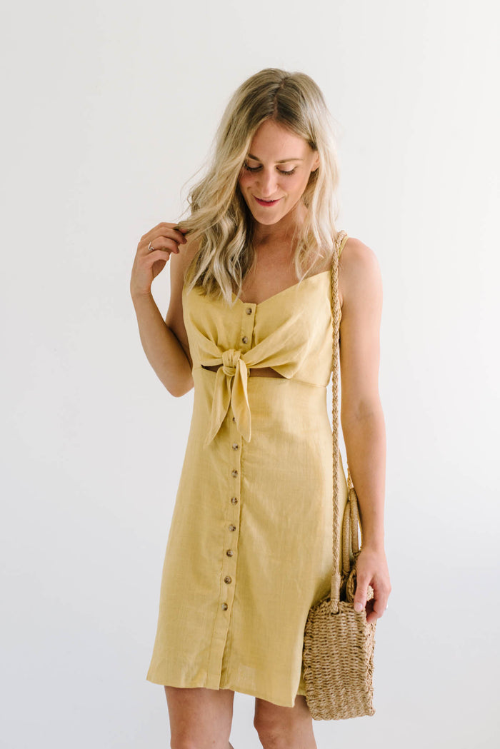 Sass Tie Front Dress| sale | Betty Lane Womens Clothing Victoria