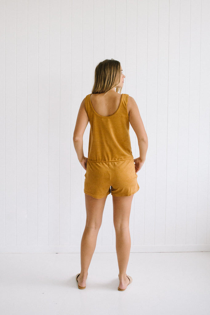 70s Terry Playsuit - Betty Lane