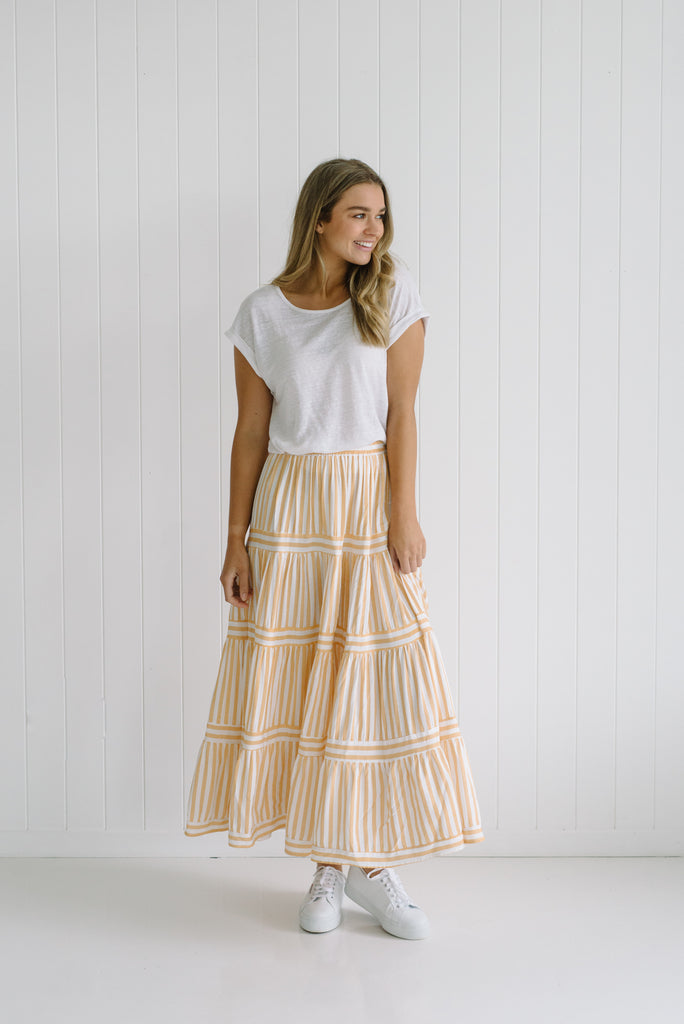 Riviera Maxi Skirt - Betty Lane