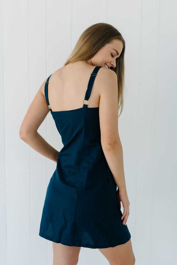 Sorrento Dress - Navy|  | Betty Lane Womens Clothing Victoria