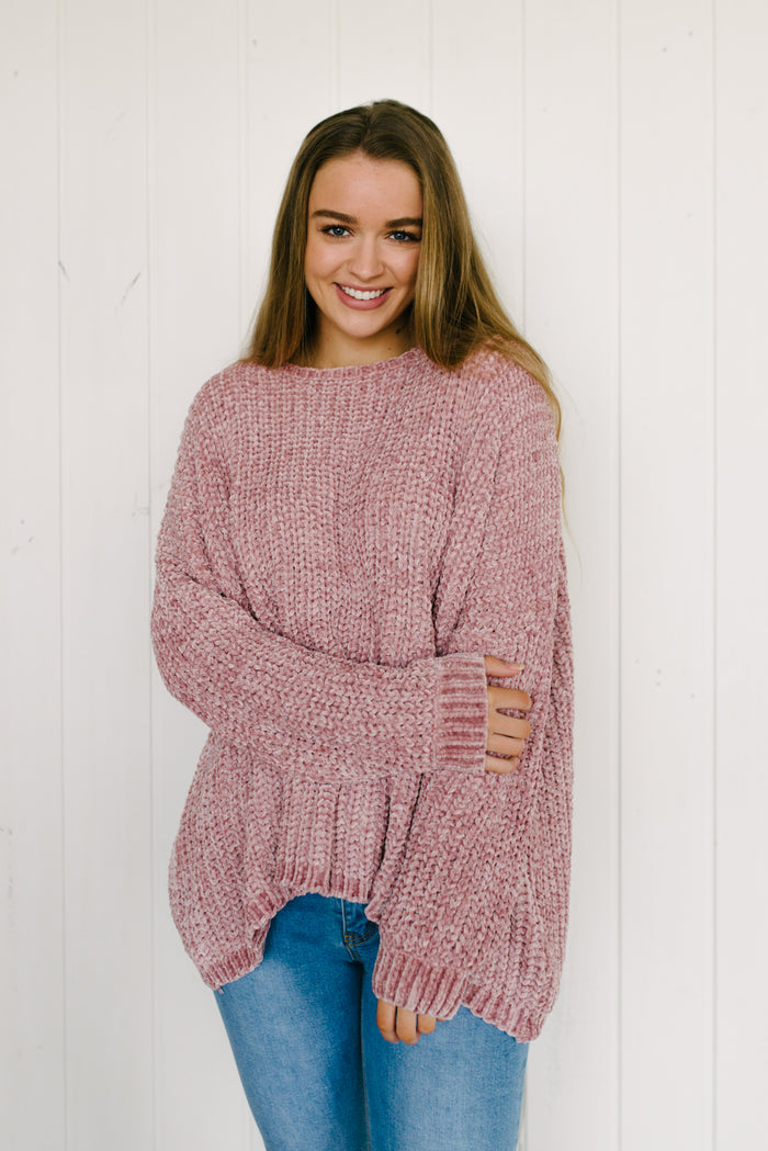 Eden Knit - Rose Pink|  | Betty Lane Womens Clothing Victoria