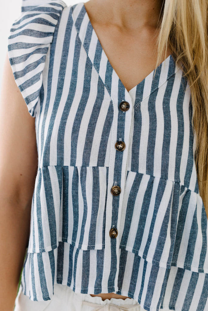 Anchor Stripe Top|  | Betty Lane Womens Clothing Victoria
