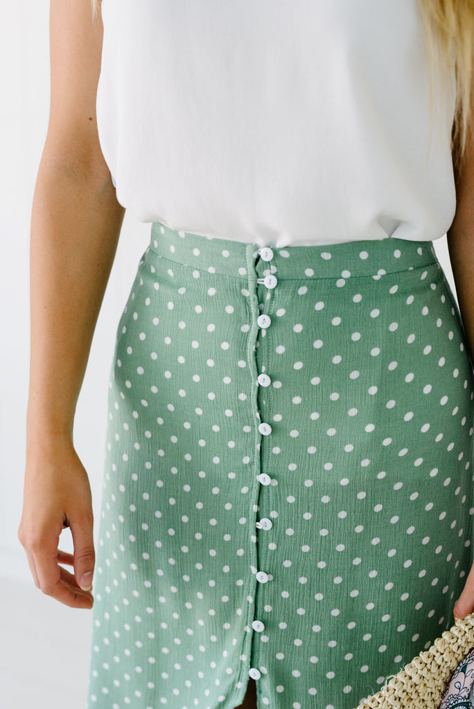 Havana Skirt - Mint|  | Betty Lane Womens Clothing Victoria