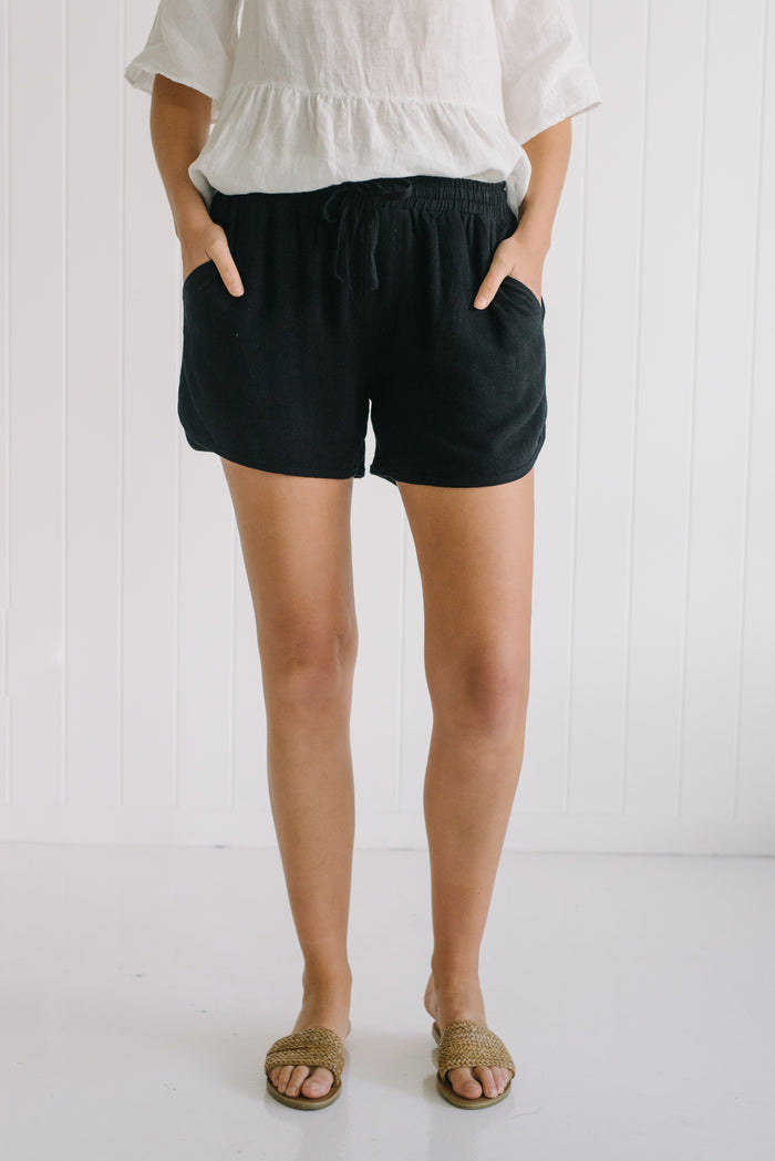 Charlie Shorts - Black - Betty Lane