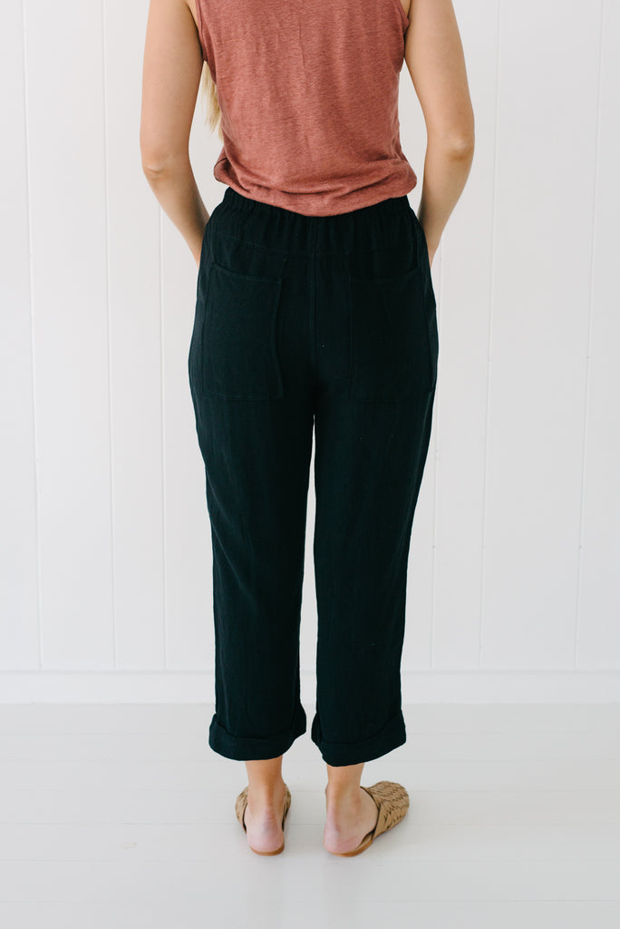 Hendrix Pants - Black| Pants | Betty Lane Womens Clothing Victoria