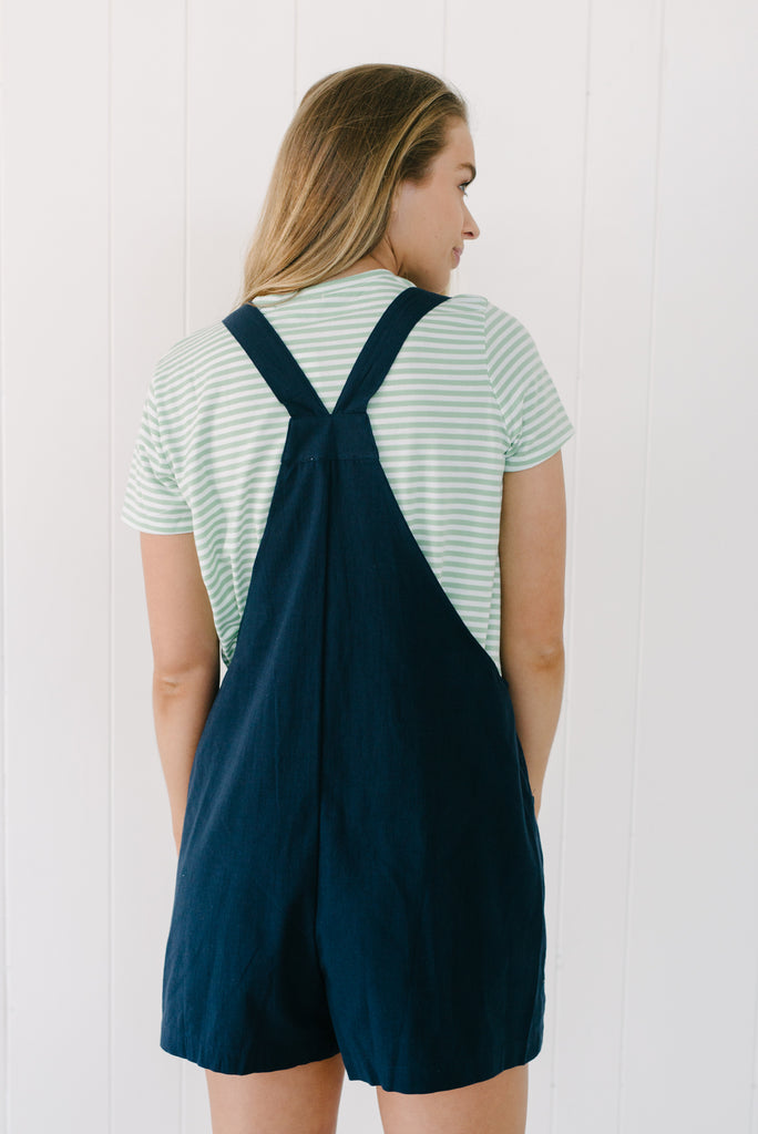 Mandy Overalls - Navy|  | Betty Lane Womens Clothing Victoria