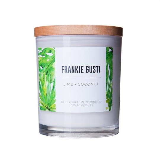 Frankie Gusti Candles - Lime & Coconut