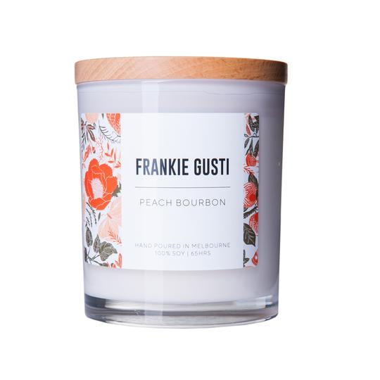 Frankie Gusti Candles - Peach Bourbon