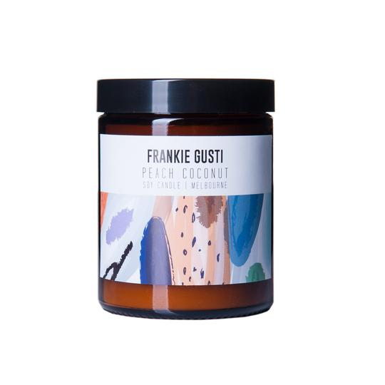 Frankie Gusti Candles - Peach Coconut