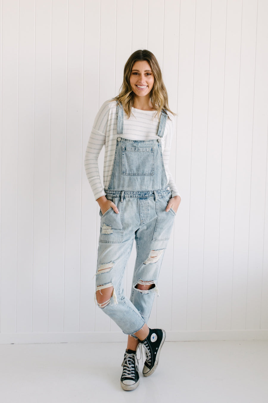 ANDY DENIM OVERALLS