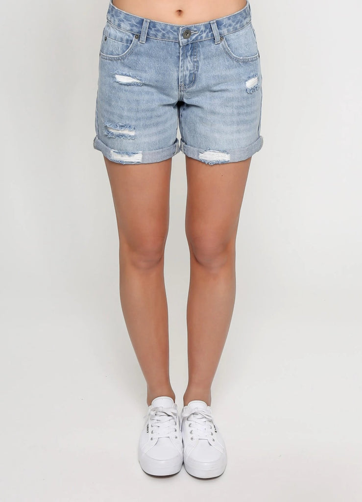 Jenna Denim Shorts - Betty Lane