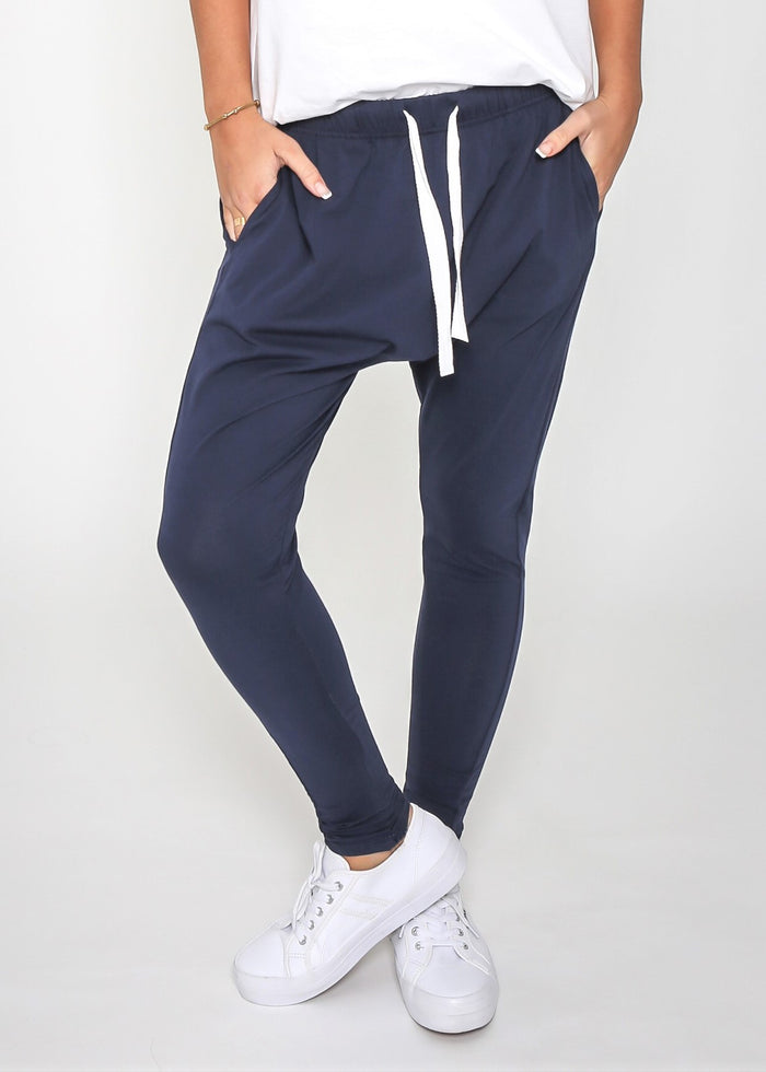 Jordan Jogger - Navy - Betty Lane