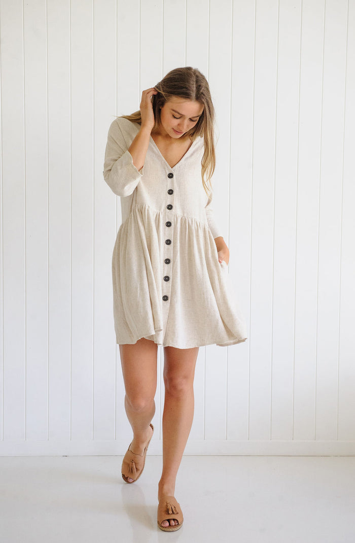 Nancy Linen Dress