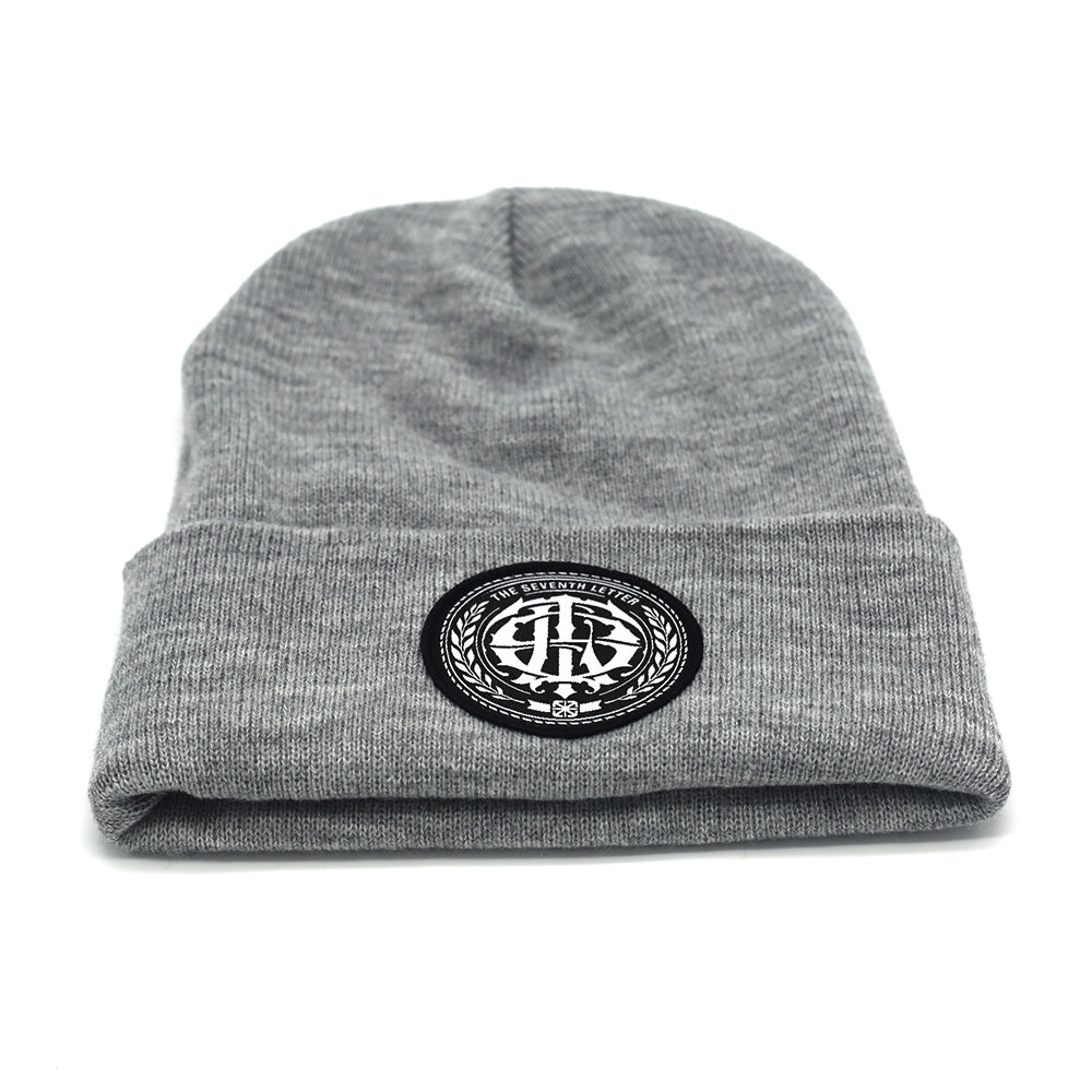 KKADE X TSL PATCH BEANIE (ASH HEATHER)