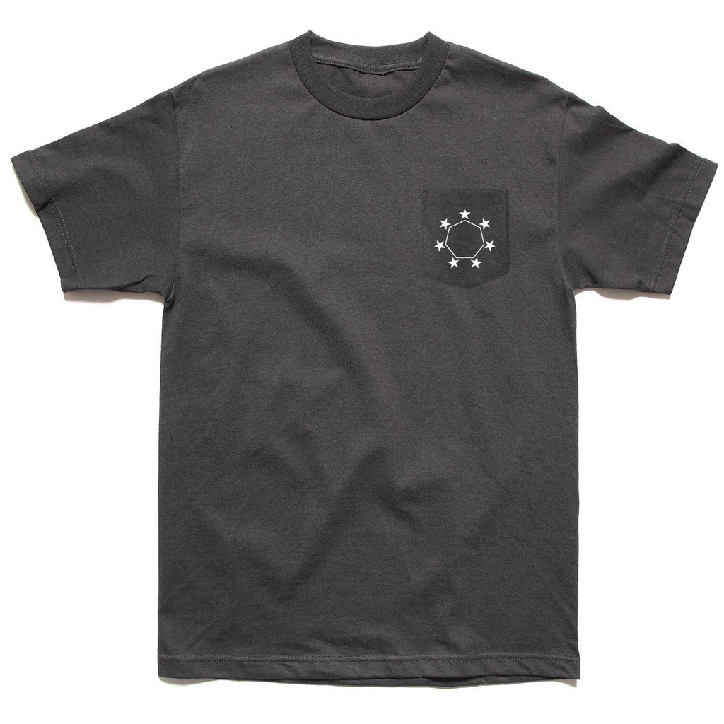 FEDERAL POCKET TEE CHARCOAL