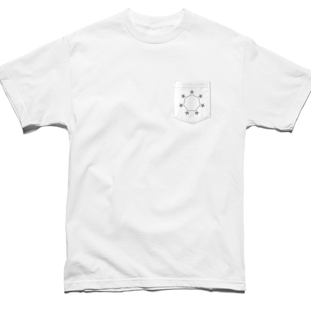 FEDERAL POCKET TEE WHITE