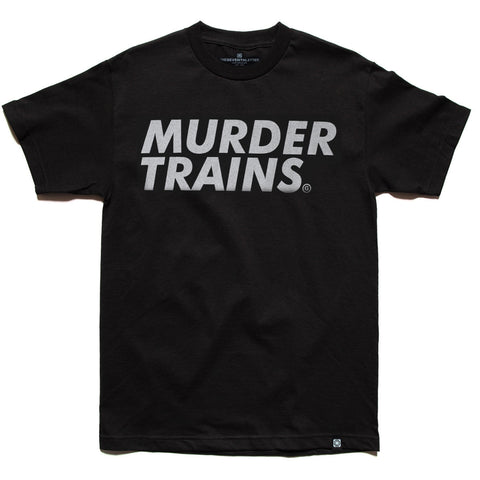 MURDERTRAINS TEE DARK ORANGE