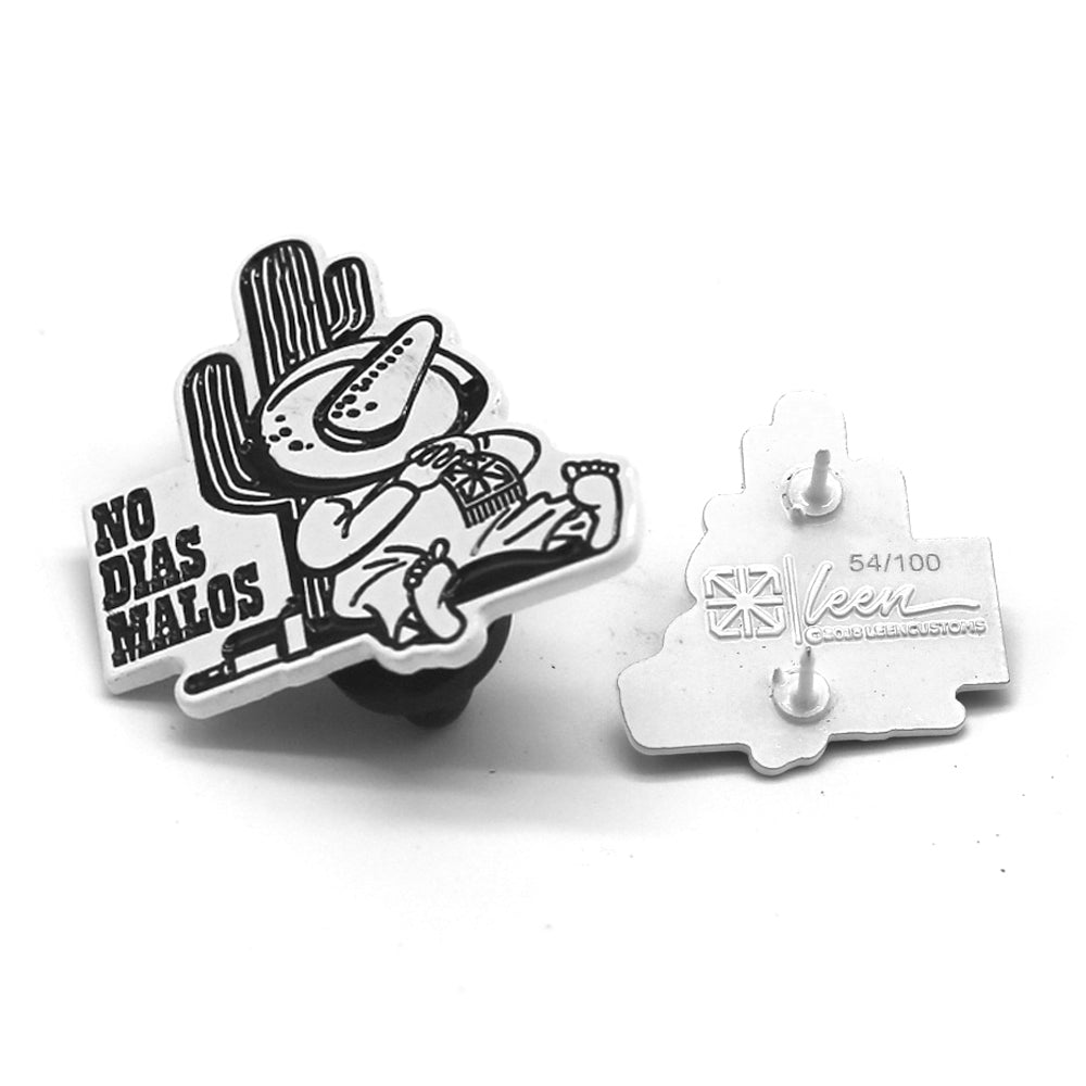 TSL NO DIAS MALOS LAPEL PIN