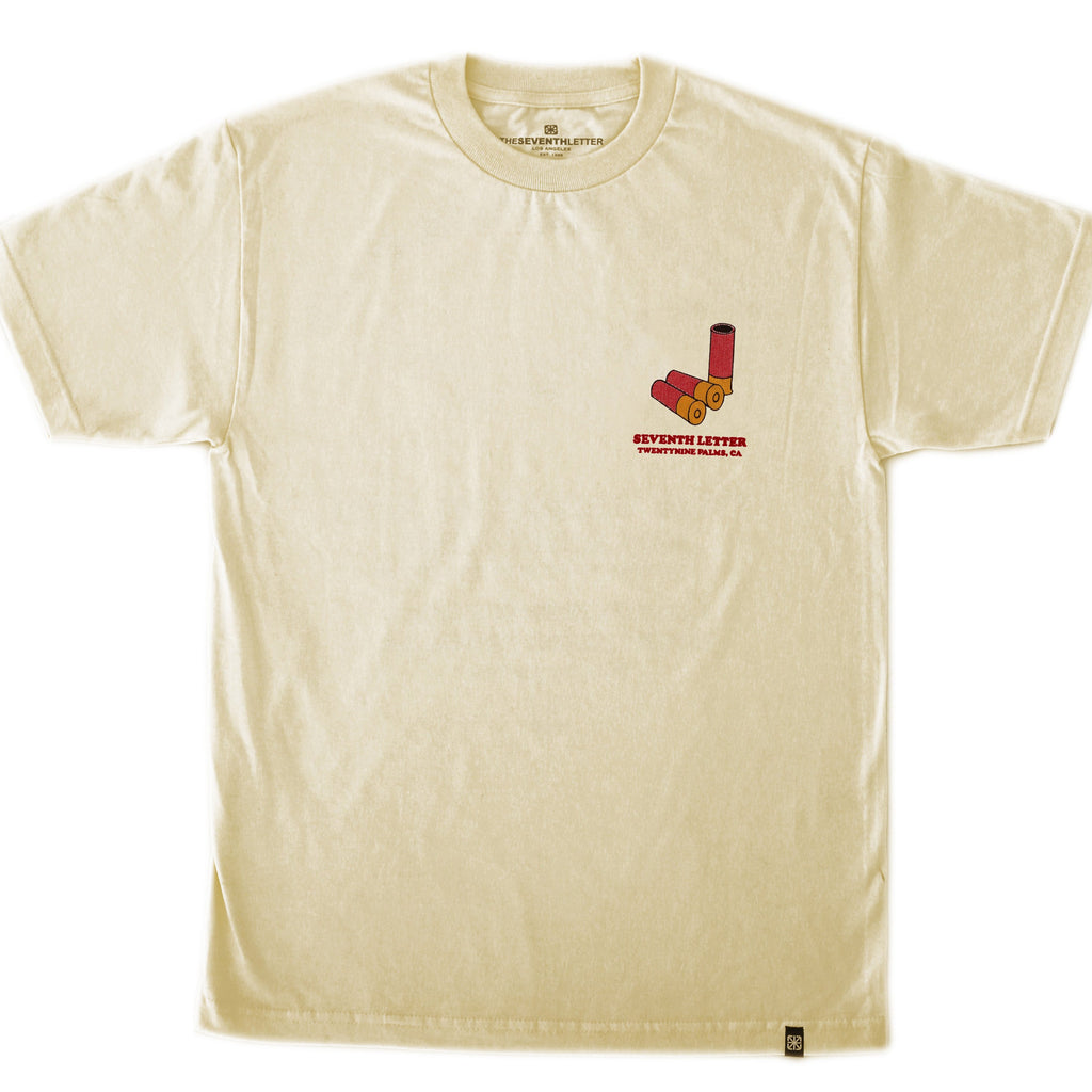 SHOTGUN RICK T-SHIRT (CREAM)