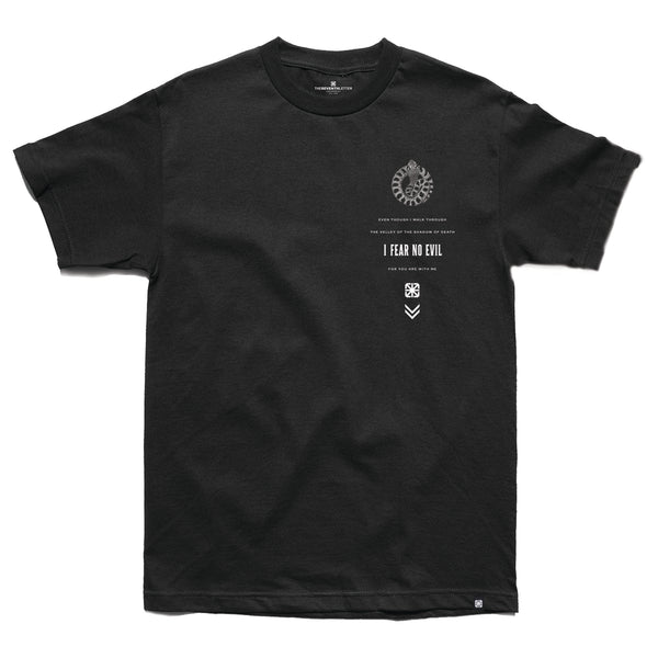 KKADE X TSL FEAR NO EVIL T-SHIRT (BLACK)
