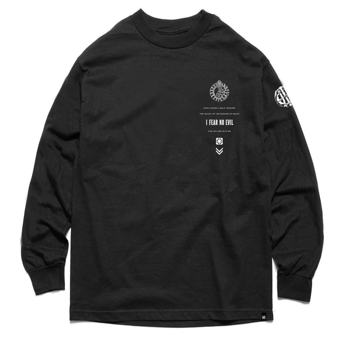 KKADE X TSL FEAR NO EVIL L/S (BLACK)