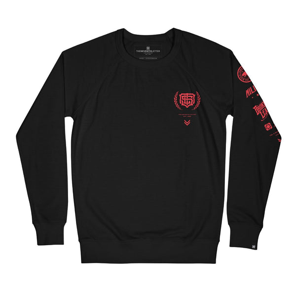 KKADE X TSL HELL'S SHOP CREWNECK FLEECE (BLACK)