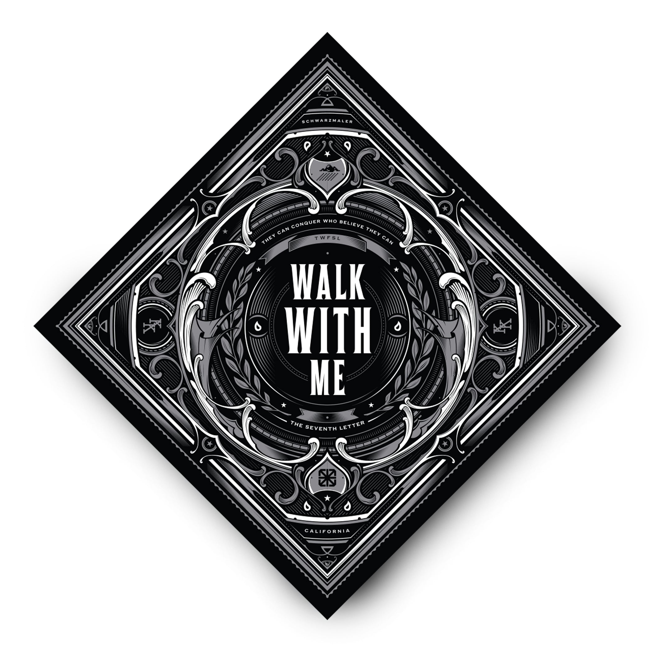 KKADE X TSL WALK WITH ME BANDANA
