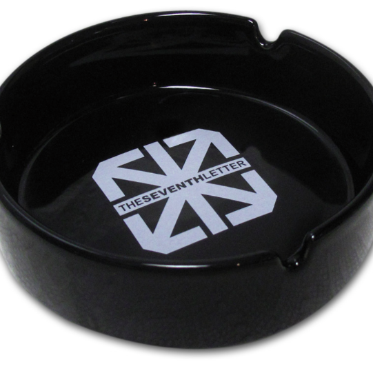 THE SEVENTH LETTER ICON ASHTRAY (BLACK)