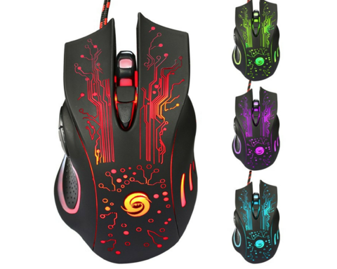 FREE! 3200 DPI LED OPTICAL 6D USB WIRED GAMING MOUSE