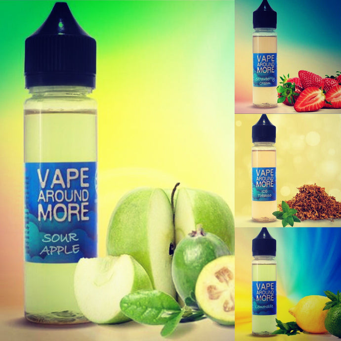 Launching new product - VAPE AROUND MORE, now in 60ml bottle!