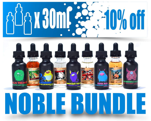 3 x 30 ml - Bundle Pack - E-Liquid from Vape Around New Zealand
