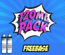 2 x 60ml E-Liquid PACK - 120ml Vape More Flavors ($20/ 60ml bottle)