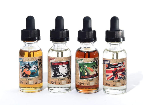 Buy 4 e-liquids from vape Around collection and SAVE 15%! - E-Liquid from Vape Around New Zealand