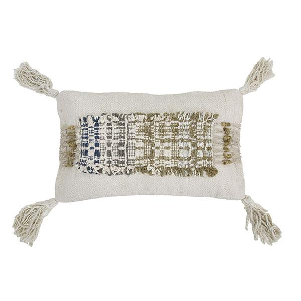 Wabi Sabi Cushion With Fringes