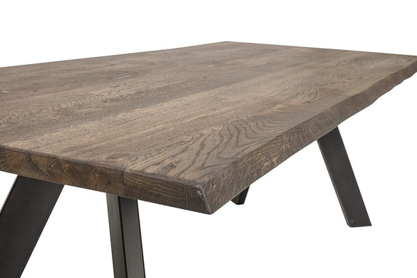 Dining Table brown oak 200x100