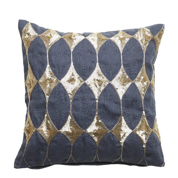 Harlekin Cushion with Sequins 40x40