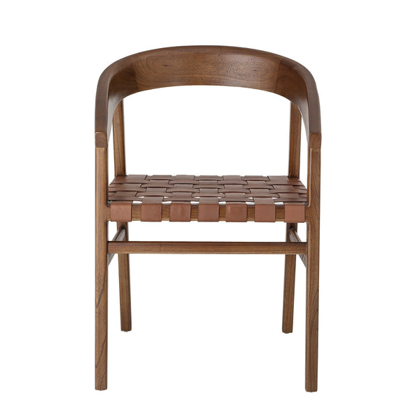 Chair with Leather Stripes