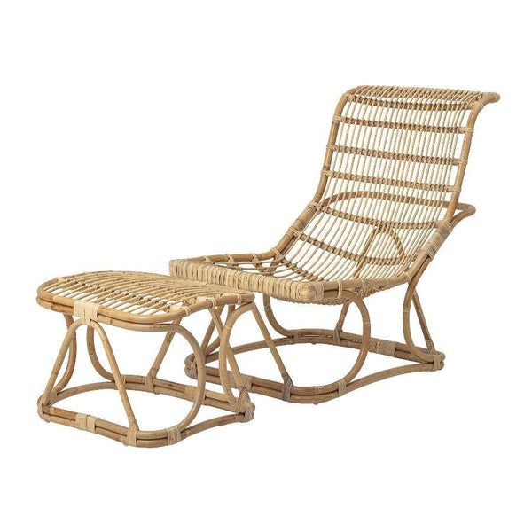 Lounge Chair with Footrest
