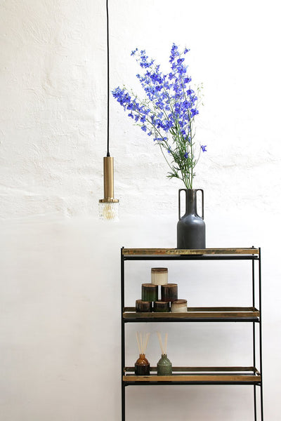 Pendle lamp brass/glass