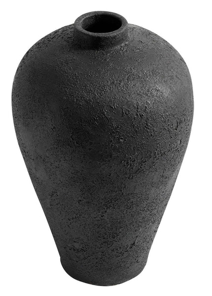 jar flower pot floor vase black terracotta vase decoration lillevaas pott mus terrakota dekoratsioon põrandavaas
