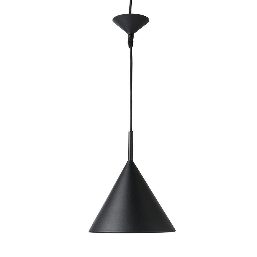 pendant lamp metal black triangle simple modern laelamp must matt kolmnurkne moderne