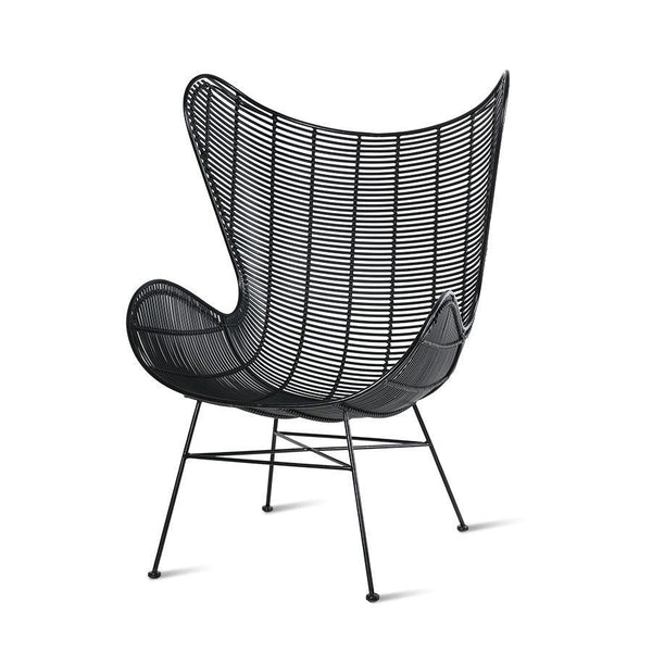 Outdoor Egg chair black