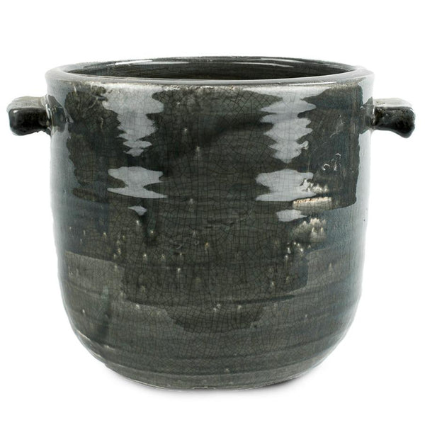 Pot ceramic Grey