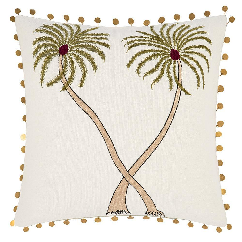 Cushion with Palmtrees 40x40
