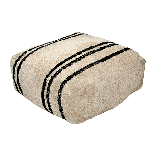 Cotton Pouf Stripes