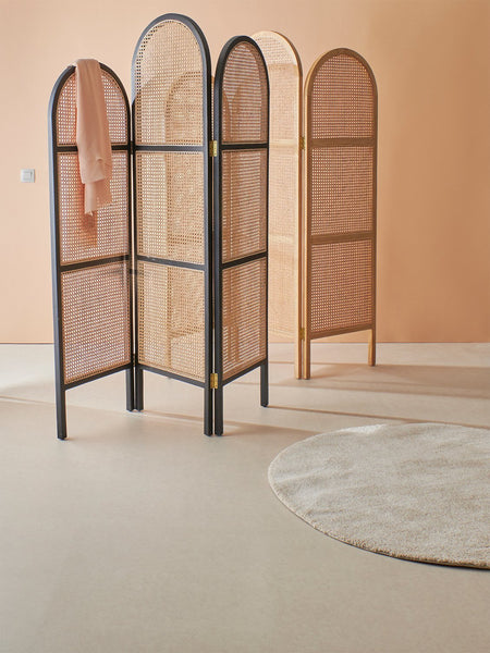 Webbing room divider natural