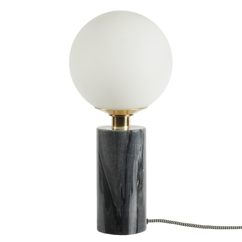 table lamp marble grey laualamp marmor hall  valgusti