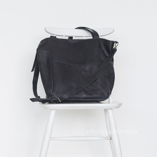 Leather Bag Black