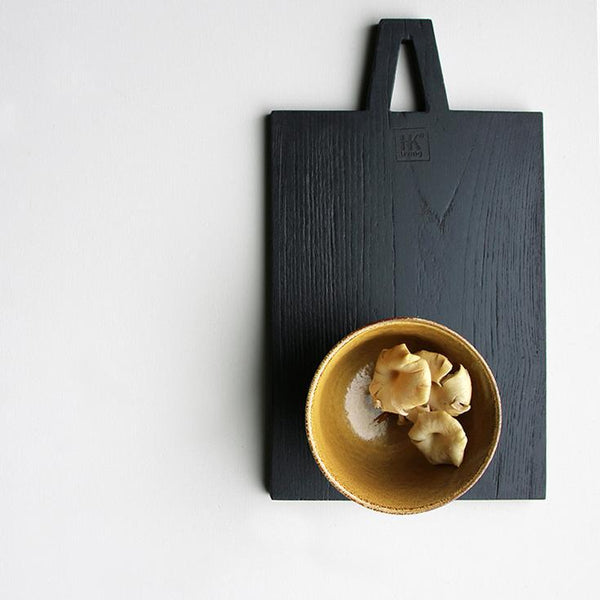 bread board black serving board wooden stylish kitchen decoration leiva alus serveerimisalus must stiilne snäkialus board for snacks