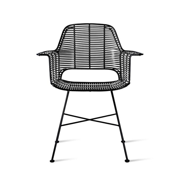 Outdoor Tub Chair black